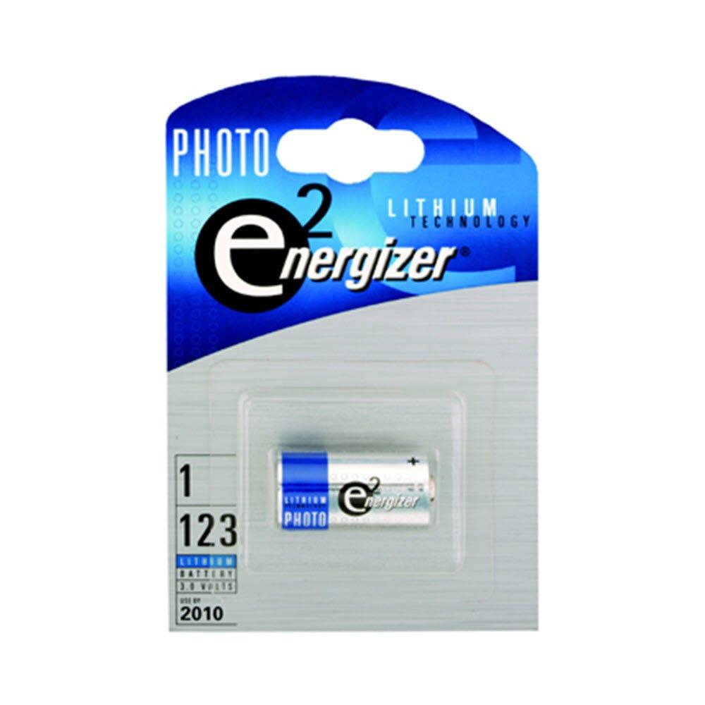 Energizer Batteri CR123A - 3V